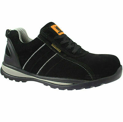 New Mens Maxsteel Lightweight Steel Toe Cap Safety Trainers Work Shoes Uk Sizes