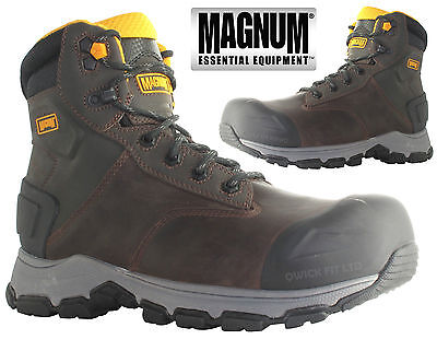 Mens Safety Magnum Waterproof Tactical Steel Toe Cap  Boots Military Shoes Sizes