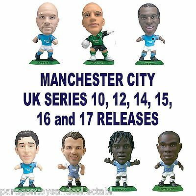 MANCHESTER CITY MicroStars - UK Series 10, 12, 14, 15, 16, 17 Choice 10 figures