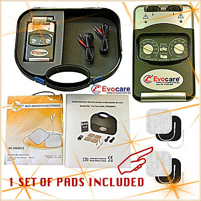 TENS Unit TENS Machine PHYSIO Top Model Pain Relief Easy to Use FREE FAST POST