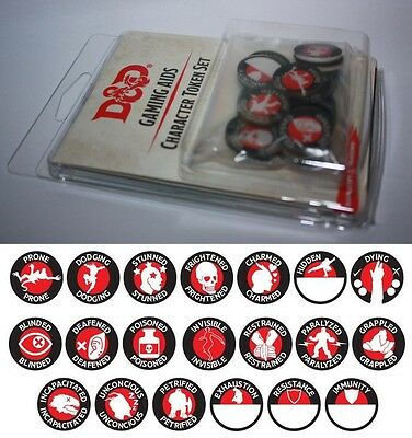 Dungeons&Dragons-Character Token Set-Wizards of the Coast -HasbroNeu-New