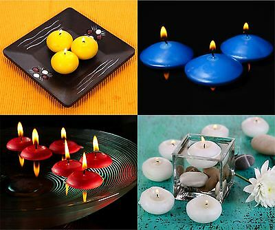 Bolsius Floating Candles Tealight Wedding Mood Wide Range of Colours 10 - 20 Pcs