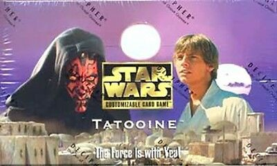 Star Wars Ccg : Tatooine Complete 99 Card Master Set With Alternate Images!