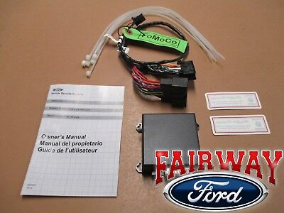 15 thru 17 Mustang OEM Genuine Ford Parts Scalable Security Alarm System Kit
