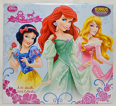 Every Day Is A Fairy Tale  2015 Wall Calendar NEW Factory Sealed
