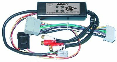 NEW PAC AAI-CHY Dual Auxiliary Audio Input Interface for JEEP Chrysler DODGE