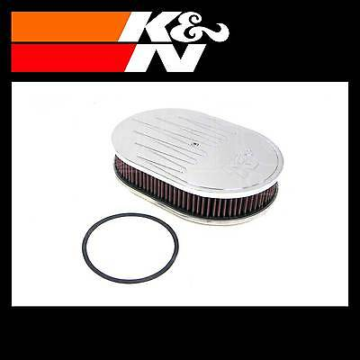 K&N 66-1550 Air Filter Assembly - Custom Assembly - K and N High Flow Assembly
