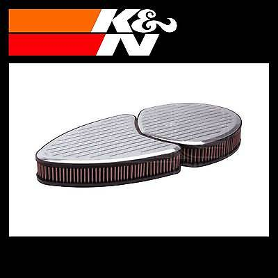 K&N 66-5080 Air Filter Assembly - Custom Assembly - K and N High Flow Assembly