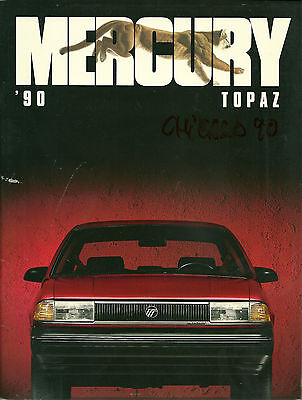 Catalogue Publicitaire Mercury Topaz - 1990