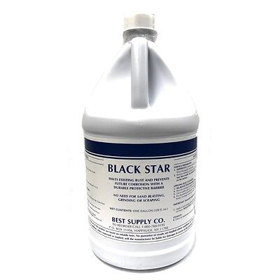 Black Star Rust Converter and Primer All in One Kills Rust Dead!