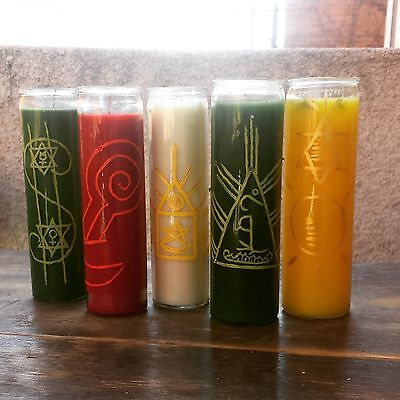 BLESSING, RID NEGATIVITY Candle ~Wicca~Pagan~Hoodoo + FREE ANGEL CARD READING