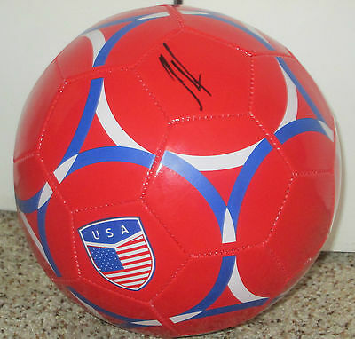 Clint Dempsey Signed USA Soccer Ball with proof
