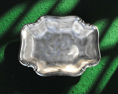 """WMF Ikora 11-1/2"""" x 9"""" Swirl Finish Made in Germany Serving Tray Silverplated"""