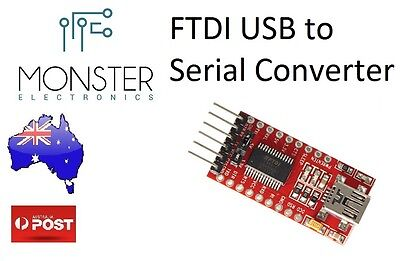 FT232RL FTDI USB to TTL Serial Adaptor Module for Arduino/Colorduino AU STOCK