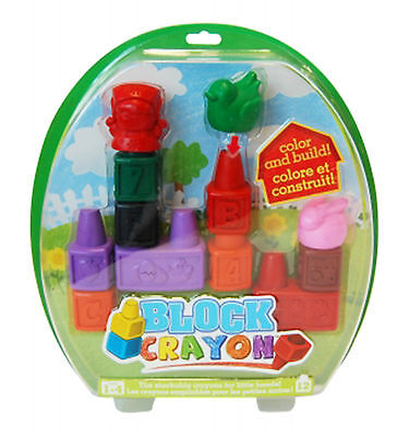Colorific Block Crayons-12 pieces PRICE REDUCED!