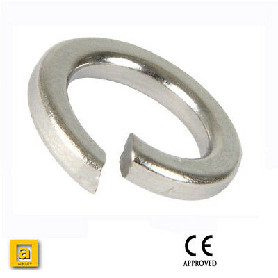 ZINC Plated STEEL SQUARE SECTION SPRING LOCK WASHERS M5 M6 M8 M10 M12