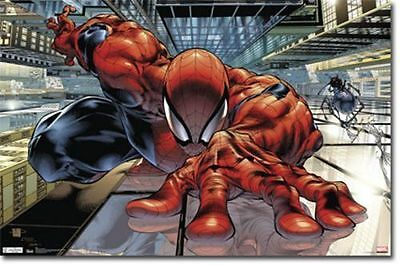 Marvel Comics The Amazing Spiderman Wall Crawler Poster 22X34 New Free Shipping