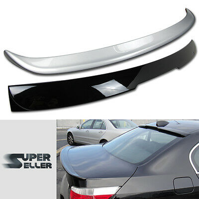 Painted Combo Bmw E60 5 Series A Type Rear Roof + Boot Trunk Spoiler 04-10 Abs ☜