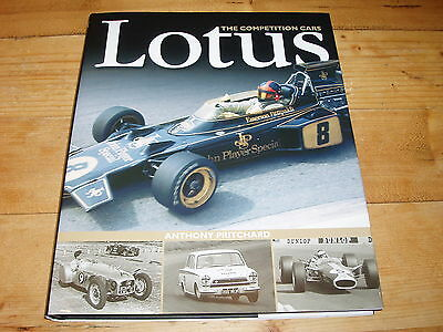 Book - Lotus-The Competition Cars.