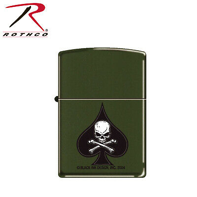 """Military """"DEATH SPADE"""" Zippo Lighter Camping Survival Lighters 4876"""