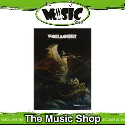 New Wolfmother Multiscore Music Book - Piano Vocal Guitar - PVG