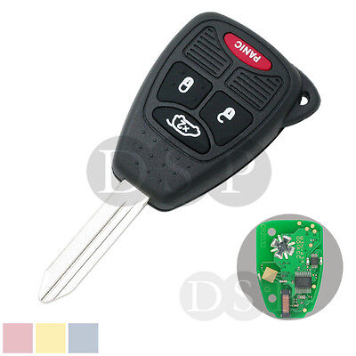 Remote Key Case 433 MHz w/ Chip fit for Chrysler Dodge Jeep FCCID head of M3N