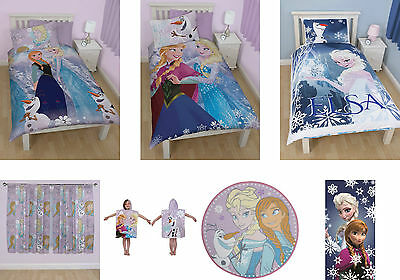 Disney Frozen Bedding And Bedroom Accessories Towels Ponchos Curtains Rug Kids
