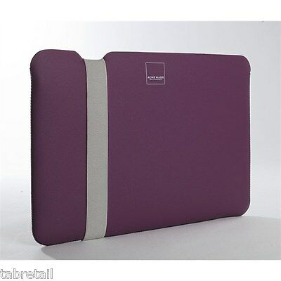 "Acme Made Skinny Sleeve Case Cover for Apple 13"" MacBook Pro / Air Purple Grey"