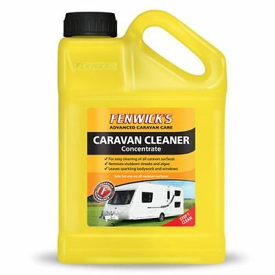 Fenwicks Caravan Cleaner 1lt Concentrate 40 Washes, Safe on All Caravan Surfaces