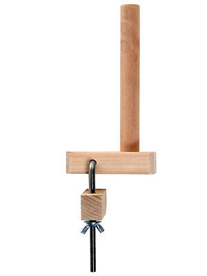 WARPING PEG and CLAMP FOR WEAVING LOOMS  - GENUINE ASHFORD PRODUCT bare timber