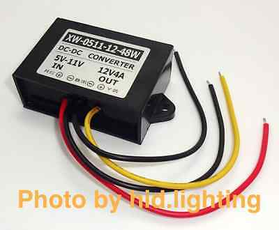 DC converter 5V 6V 7V 8V 9V 10V 11V to 12V 4A Step up Power Supply Booster 48W