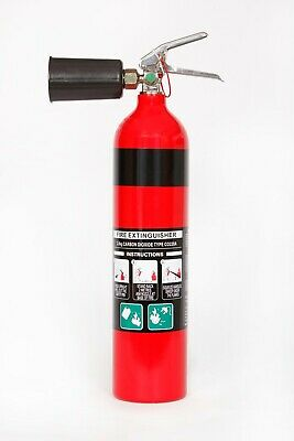 NEW 2kg Co2 Fire Extinguisher 2.0kg CO2 Carbon Dioxide Switch / Electrical Rooms