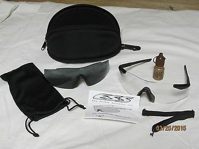 ESS ICE-2X Ballistic Protective Eyeshields Shooting Glasses Airsoft