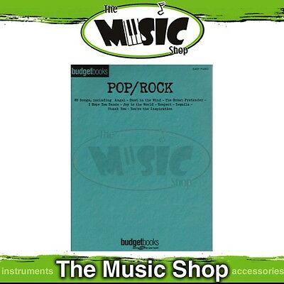 New Budget Books 'Pop/Rock' Music Book for Easy Piano