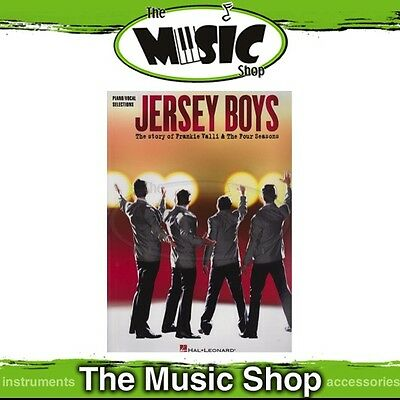 New Jersey Boys the Musical Vocal & Piano Selections Music Book