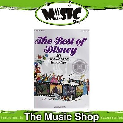 New The Best of Disney PVG Music Book - Piano Vocal Guitar