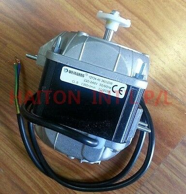 Heavy Duty Square Fan Motor 34W sleeve bearing dual mounting distance18/26mm