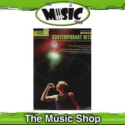 New Contemporary Hits Pro Vocal Men's Edition Music Book & CD - Volume 3