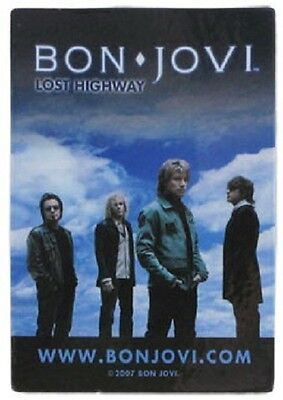 BON JOVI Lost Highway Fridge Magnet Rock Official Merchandise