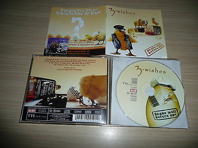 @ Cd 3-Wishes - Shake Well Before Use Rare German Melodic Aor / Tts Music 2003