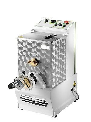 FRESH PASTA NOODLE MAKER MACHINE 8 KGS 17 lb 15 PASTA DIE AND CUTTER  INCLUDED