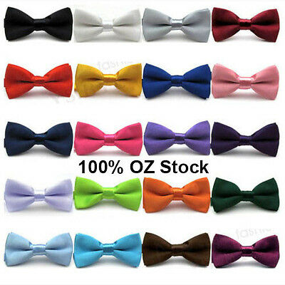 BOYS BOW TIE Necktie BABY CHILDREN KIDS BOW TIES TODDLER WEDDING