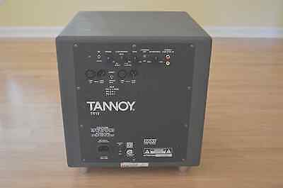 Tannoy TS12 * 500-Watt * 12-Inch Powered Subwoofer Audiophile Home Theater