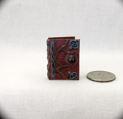 HOCUS POCUS BOOK OF SPELLS Miniature Book Dollhouse 1:12 Scale Readable Book