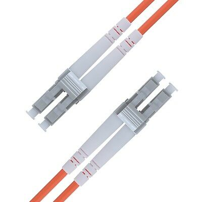 LC to LC Fiber Patch Cable Multimode Duplex - 1m (3.28ft) - OM2 - Beyondtech