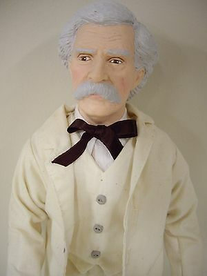 "Effanbee, Mark Twain. ""Great Moments of Literature"" Doll"