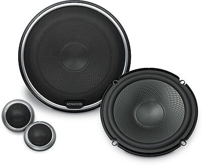 """NEW KENWOOD KFC-P709PS 6.5"""" 2-Way Component Speakers System 6-1/2"""""""