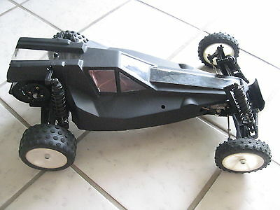 TRAXXAS BANDIT 1:10 SCALE REMOTE CONTROL CAR BUGGY ROLLER CHASSIS BODY RACE RC