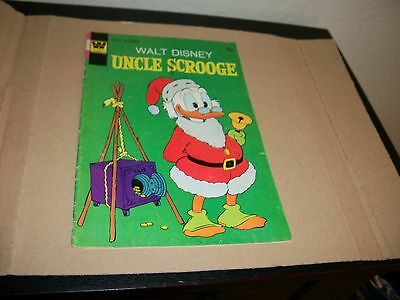 Walt Disney Uncle Scrooge Comic Book 1971