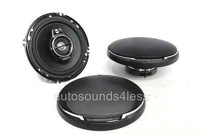 "Kenwood KFC-1695PS 640 Watts 6.5"" 3-Way Coaxial Car Audio Speakers 6-1/2"" New"